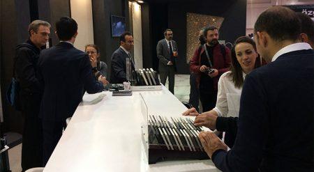 Dünya kuvars lideri Cosentino, 39. Yapı Fuarı'nda ürünlerini sergiledi